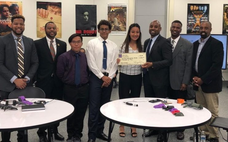 OCUF Donates $1,000 To The Cerritos High Prosthetic Hand Project