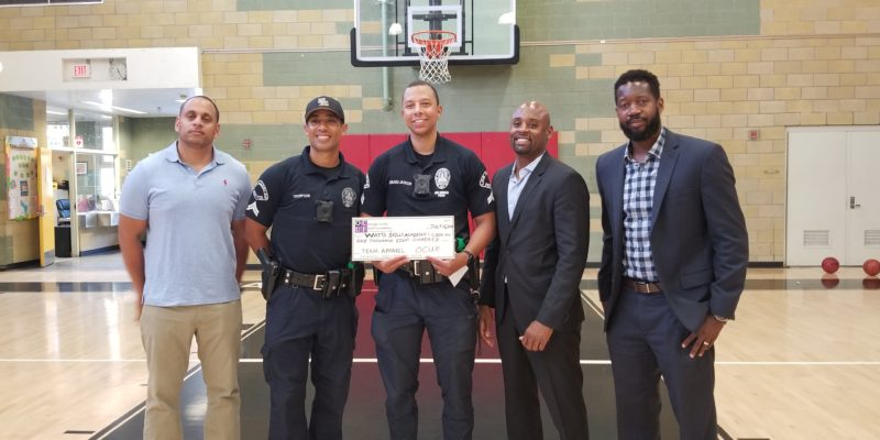 OCUF Donates $1,800 To The Watts Skills Academy